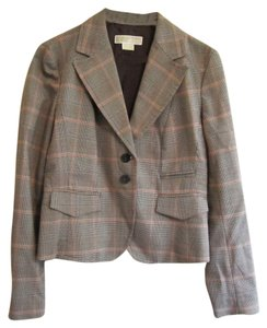 Michael Kors Size 4 Plaid Blazer