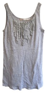 Jpark With Ruffles Top Light Heather Gray