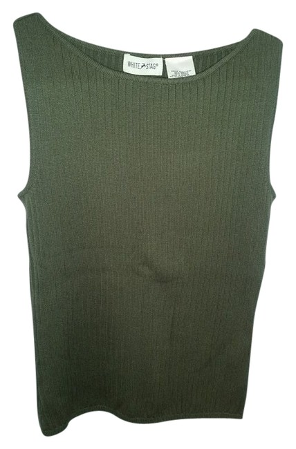 White Stag Top Green