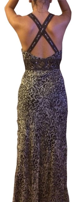 Item - Black/Gray/ Formal Dress Size 6 (S)