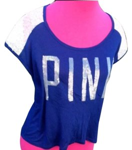 Victoria's Secret T Shirt Blue