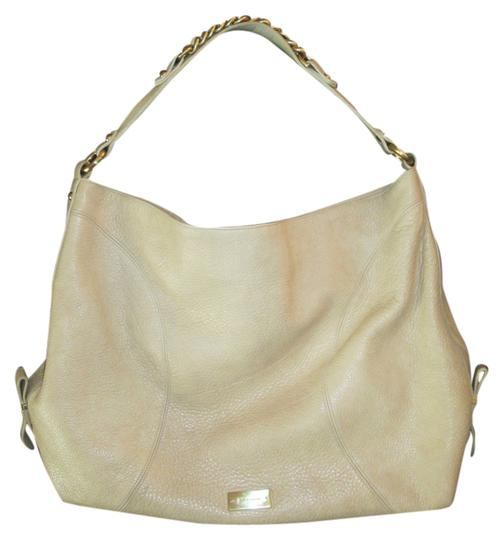 Brahmin Slouchy Smooth Leather Gold Chain Hobo Bag