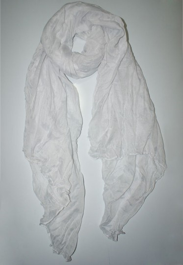 Other White Cotton Crinkle Summer Fall Scarf Free Shipping