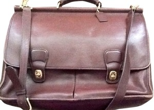 Coach Classic Coach leather briefcase bag