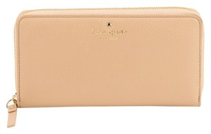 Kate Spade Kate Spade Beige Leather Cobble Hill Lacey Wallet (New with Tags)