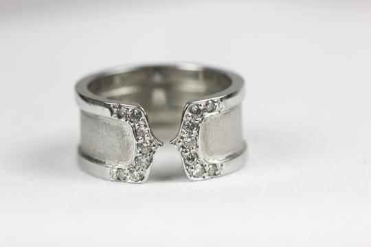 Cartier Double C ring with diamonds by Cartier Logo Collection