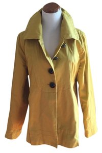 Mossimo Supply Co. Gold/mustard yellow Womens Jean Jacket