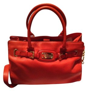 Michael Kors Satchel in Mandarin Orange