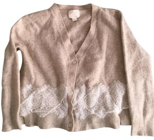 Band of Outsiders Lace Wool Sweater