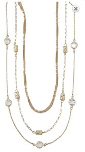Lia Sophia Lia Sophia Gold Coast Set Of Three Necklaces
