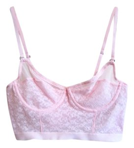 Gilly Hicks Gilly Hicks under-wire Light pink lace bra 34B