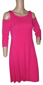 Bailey 44 short dress dark pink on Tradesy