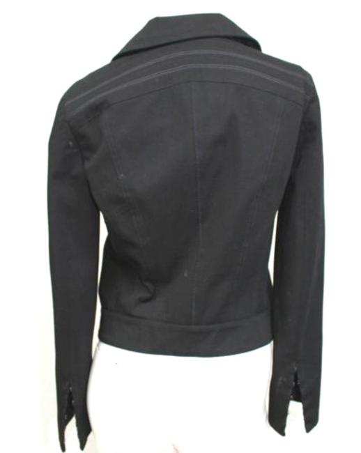 Elie Tahari Zip Front Cotton Jacket