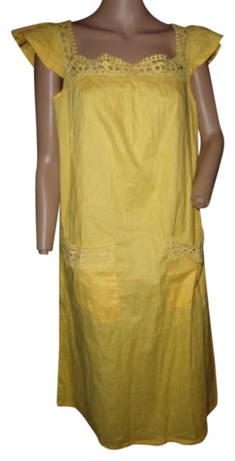 Preload https://img-static.tradesy.com/item/5557816/bright-yellow-short-casual-dress-size-8-m-0-0-650-650.jpg