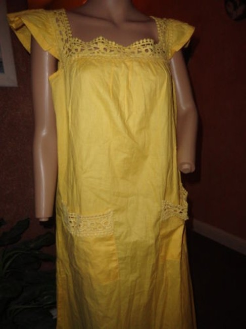 COMFORT CHOICE short dress BRIGHT YELLOW on Tradesy