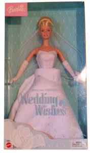 Barbie NIB 2003 Wedding Wishes Barbie - Special Edition