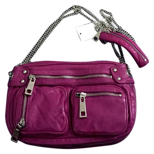 Preload https://item2.tradesy.com/images/steven-by-steve-madden-wild-thing-raspberry-leather-cross-body-bag-5558386-0-0.jpg?width=440&height=440