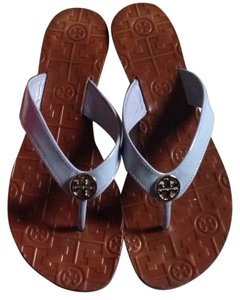 Tory Burch Blue Orchid Sandals
