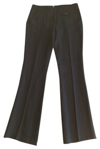 Max Studio Dress Pant Slacks Boot Cut Pants Black
