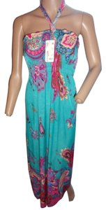BRIGHT PAISLEY Maxi Dress by ACE
