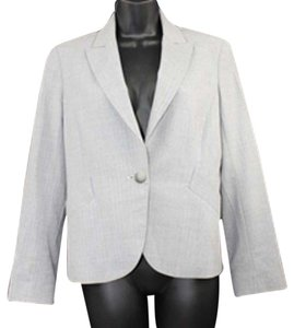Theory Light Gray Wool Blazer