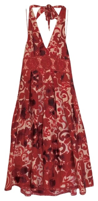 Adrianna Papell Cocktail Floral Spring Marylin Monroe Dress