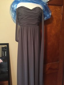 Alfred Angelo Charcoal Gray 7236 Dress