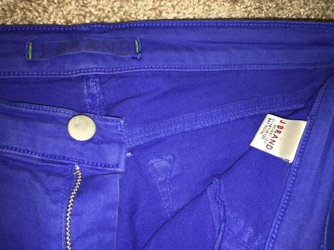J Brand Ankle Colored Denim Anthropologie Skinny Jeans-Medium Wash