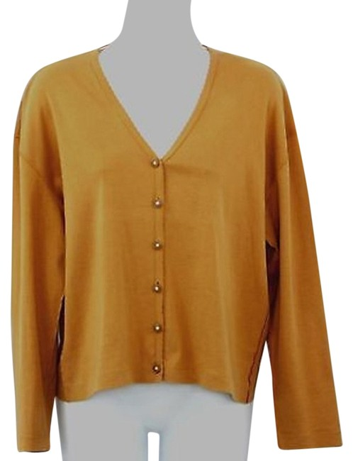 Preload https://item3.tradesy.com/images/sonia-rykiel-buttoned-cotton-cardigan-xl-blouse-size-16-xl-plus-0x-5558767-0-0.jpg?width=400&height=650