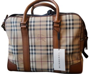 Burberry tan Travel Bag