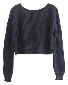 Brandy Melville Rare Chunky Knit Cropped Wool Sweater