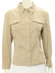 Dolce&Gabbana Dolce D&g New Neutral Coat Slimming Khaki Jacket