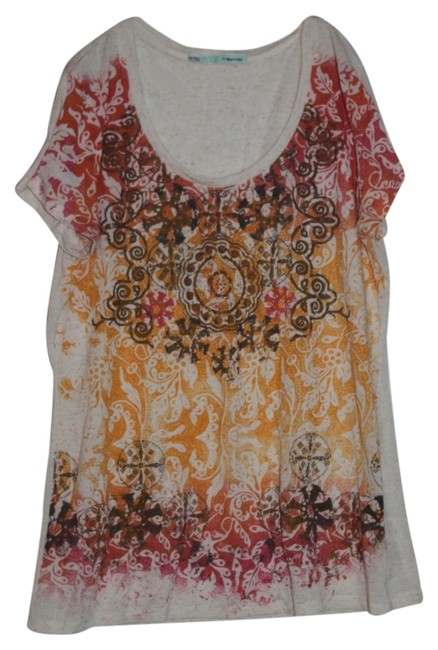 Maurices T Shirt Multi-Colored