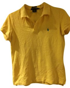 Ralph Lauren Polo Button Down Shirt Yellow