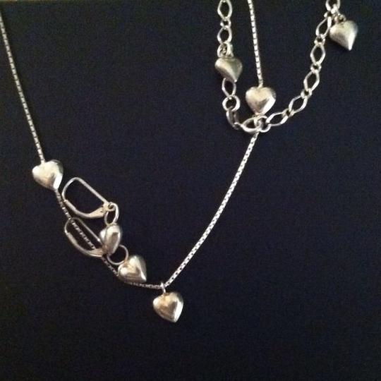 Other 4 piece sterling silver heart charm bundle