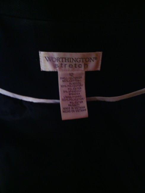 Worthington Worthington black pants suit