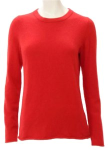 J.Crew Cashmere Lipstick Red Holiday Sweater