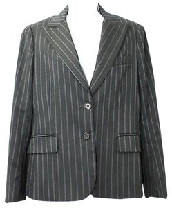 Theory Striped Wool Blazer