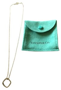 Tiffany & Co. RARE Tiffany and Co sterling silver square necklace