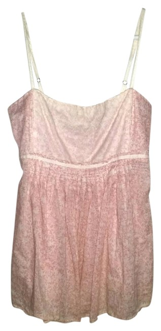 Preload https://img-static.tradesy.com/item/5560285/abercrombie-and-fitch-floral-pink-lace-babydoll-tank-blouse-size-12-l-0-2-650-650.jpg