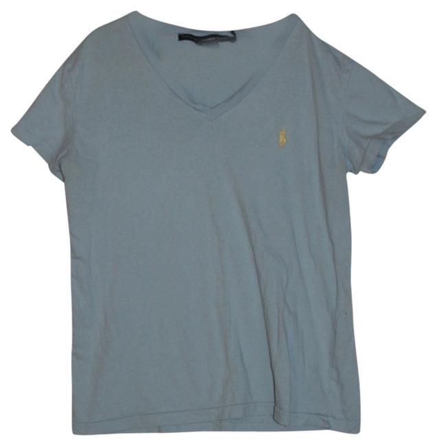 Ralph Lauren T Shirt Blue with Yellow Horse