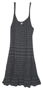 Old Navy short dress Blue and Gray Stripes on Tradesy