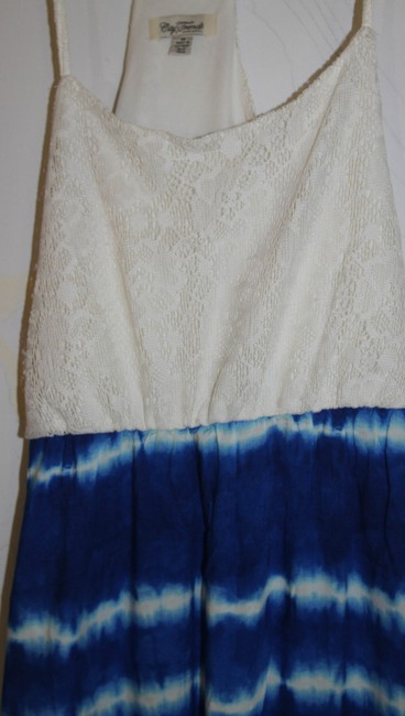 City Trends short dress White Lace and Tie Dye Maxi on Tradesy