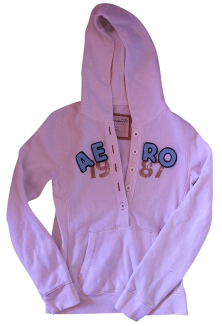Preload https://item2.tradesy.com/images/aeropostale-white-sweatshirthoodie-size-8-m-556071-0-0.jpg?width=400&height=650