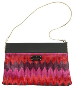 Kate Spade Red, Pink, Black, Purple Clutch