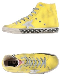 Golden Goose Deluxe Brand yellow Athletic