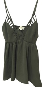 L'ATISTE Top Olive green