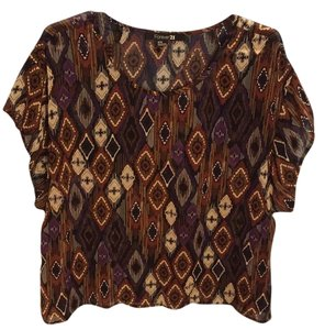 Forever 21 Top Multicolored