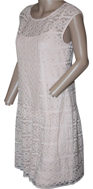 Preload https://item1.tradesy.com/images/light-pink-lace-short-workoffice-dress-size-4-s-5561230-0-0.jpg?width=400&height=650