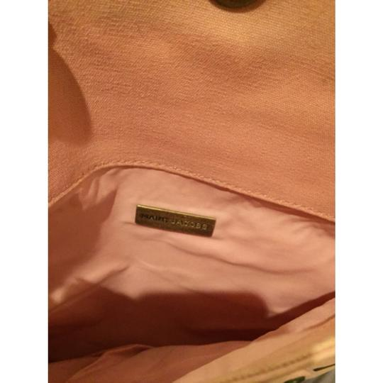 Marc Jacobs Mj Fabric Studded Pink Clutch